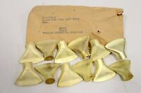"""Lot of (12) Central Scientific Wing Top Fan-Shaped for Glass Bending 5/8"""" 16mm"""