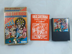 PARLOR GAMES (Sega Mark III) Japan import Complete ~ US Seller