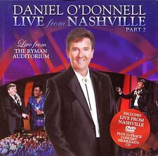 Daniel of 'Donnell Live From Nashville Part 2 Ru 2012 CD+DVD NEUF / UNPLAYED