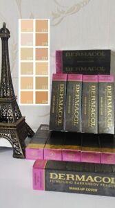 GENUINE Dermacol Make-up Cover Legendary High Covering Foundation Makeup