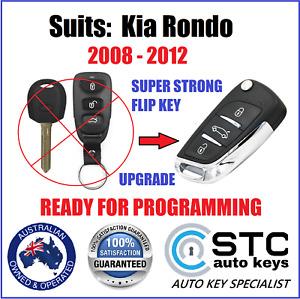 KIA RONDO 2008 2009 2010 2011 2012 COMPLETE CAR  REMOTE FLIP TRANSPONDER KEY FOB