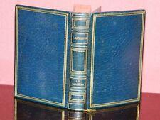 Jean RICHEPIN: Les caresses. Charpentier 1916 superbe ex. plein maroquin bleu