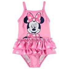 85837a8c9fd Disney Baby Girls Minnie Mouse Pink Swimsuit Swimwear Swimming Swim Costume