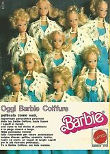 X0955 Barbie Coiffure - Mattel - Pubblicità del 1976 - Vintage advertising