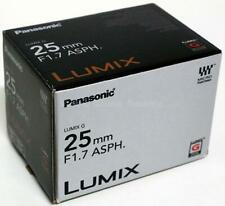 PANASONIC LUMIX G 14MM F2.5 II OBJEKTIV ASPH. BMPCC4K GH5 GH5S LENS