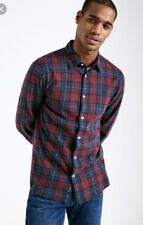 Mens Jack Wills Cotton Checked Shirt Size Medium
