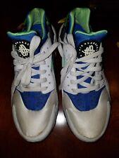 """0394cb5fcf0d1 2014 Nike Air Huarache OG """"Scream Green"""" 318429-100 VTG Men s (SIZE"""