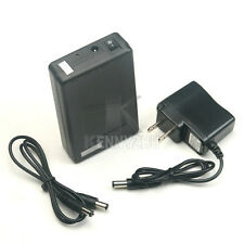 US Portable Super Rechargeable Li-ion Battery Pack DC 12V 6800mAh for CCTV Cam