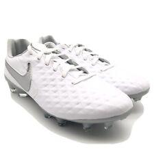 Nike Tiempo Legend VIII 8 Pro FG White / Platinum AT6133-100 Mens 6 Womens 7.5