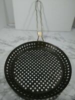 "Pizza Crisping Deep Sides Pan 12"" With Handle"