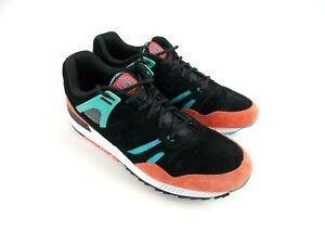 Saucony 5000 Grid SD Black Coral Blue Suede Shoes Sneaker S70235-1 Men's Size 12