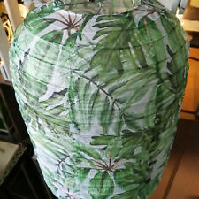 Lampenschirm Tropic Dschungel Flaming Lampion Papier Oval 40cm Lampe Papierlampe