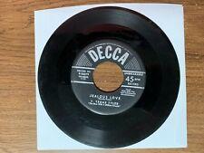 "1953 T. Texas Tyler ""Jealous Love/Bumming Around"" 45 RPM 7"" Record"