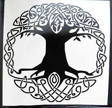 Celtic Tree Of LIfe gods myths Magic stickers/car/van/bumper/window/decal 5208bk