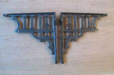 COPPIA DI GRECO COLONNA antico Stile Vintage ghisa staffa per mensola da parete