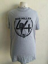 Los Angeles Kings Bob Miller t-shirt men's XL gray cotton