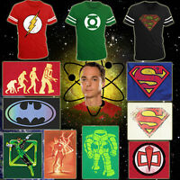 CHOOSE FROM T-shirts Worn By/AS SEEN ON Sheldon Cooper on The Big Bang Theory