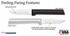 Rada R102 Peeling Paring Kitchen cutlery Knife S/S blade food prep cook USA made