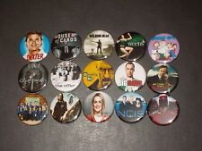 Popular TV Show Buttons/ Pins 15
