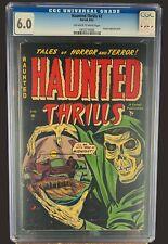 Haunted Thrills #2 CGC 6.0 - Ajax Farrell Comics 1952 - Golden Age Horror Scifi