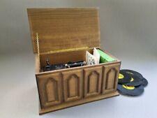 Thorens AD30 Spieluhr/ Spieldose Swiss In Holzschatulle Mit 7 Platten.-Very Rare