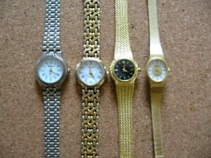4 Ladies Ingersoll quartz: New one included. All new batteries,working correctly
