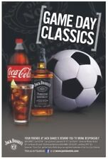 Jack And Coke Soccer Giant Size Poster 36 By 48 Inch