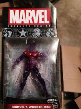 "Marvel Universe 3.75"" 3 3/4"" infinite series Avengers Wonder Man ionic version"