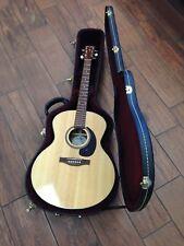 Simon & Patrick Woodland Pro Mini Jumbo Spruce HG Acoustic Guitar W/Hard Case