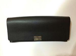 HUGO BOSS Glasses Case or Sunglasses Case - Black Authentic
