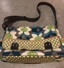 Fossil Floral KeyPer Crossbody large Messenger Shoulder Bag
