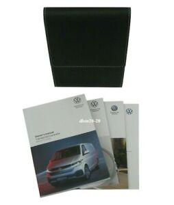 VW TRANSPORTER / CARAVELLE OWNERS HANDBOOK MANUALS EDITION 11.2020