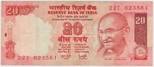 (K41-69) 2002 India 20 Rupee bank note (BS)