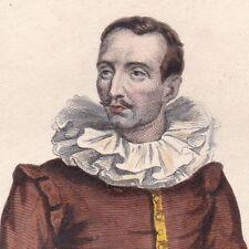 Brantôme Pierre de Bouteille Seigneur St Crépin de Richemont Militaire Historien