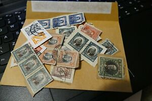 27 mixed Central / South America postage stamps philately postal Philatelic