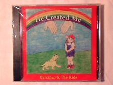 BARRANCO & THE KIDS He created me cd JOHNNY SIGILLATO RARISSIMO VERY RARE SEALED