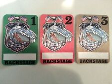 Beach Boys Backstage Passes Set of 3