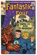 FANTASTIC FOUR 45 - 1965 - FIRST INHUMANS! - BEAUTIFUL! ONE OWNER BOOK