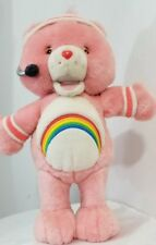 Care Bear CHEER EXERCISE Talking Sings moves Plush Standing Lets Get Physical