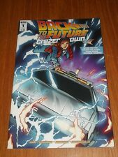 BACK TO THE FUTURE CITIZEN BROWN #1 IDW COMICS VARIANT NM (9.4)