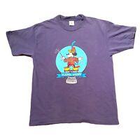 Vtg 90s Disney Classic Toons Magic Music Mickey Mouse Single Stitch T-Shirt XL