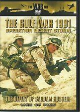 THE GULF WAR 1991 - OPERATION DESERT STORM DVD - THE DEFEAT OF SADDAM HUSSEIN