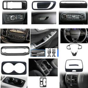 15*Carbon Fiber Interior Whole Kit Cover Trims For Ford Bronco Sport 2021-2022