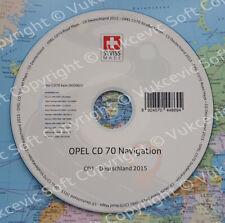 OPEL Navigation Update CD70 Deutschland 2015 Letzte