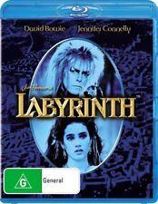 Labyrinth - David Bowie (Blu-ray, 2009) NEVER PLAYED & STILL SEALED
