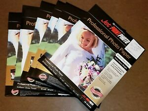 5 Pack- Professional Photo Paper Hammermill Jet Print 4x 6 10 mil Gloss 20 Shts