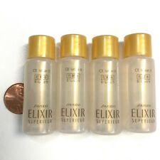 Shiseido Elixir Superieur Lift Moisturizer CE Lotion II 4 Sample Bottles New
