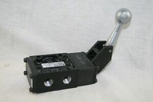 "New Norgren K41DA00 AIR HAND OPERATED VALVE 3-PORT 1/4"" 150 PSIG USA F14"
