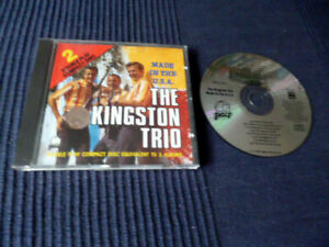 CD The Kingston Trio - Made In The USA Best Of Greatest Hits Singles 1958-1964