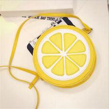 Super Cute Womens Lolita Handbag Lollipop Harajuku Message Bag Lemon Cross Body